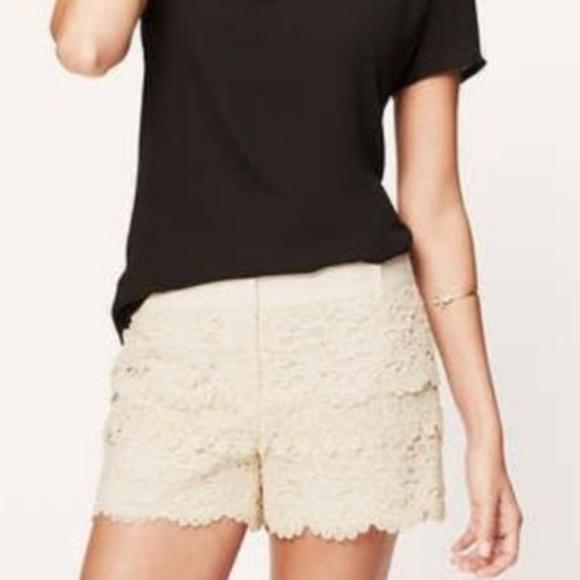 LOFT Pants - LOFT lace short